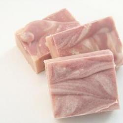Pomegranate Cold Process Loaf Soap (Vegan)